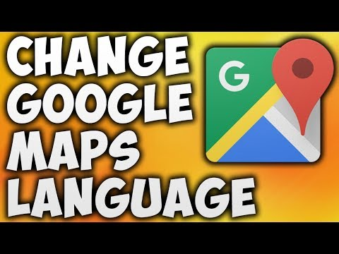 How To Change Google Maps Language - The Easiest Way To Change ... Change Google Maps Language on
