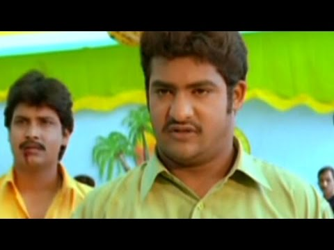 Subbu Telugu Movie || NTR Fight in College...