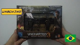 [Unboxing] PS3 Uncharted 3 Drake