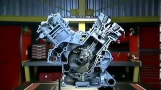 Как это устроено  Четырёхтактный двигатель