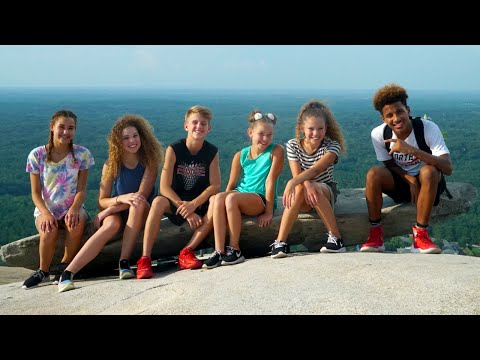 Thumbnail: MattyBRaps & Haschak Sisters … & Justin? (Epic Stone Mountain Field Trip with Fruitocracy)