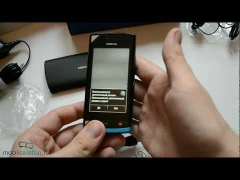 Распаковка Nokia 500 (unboxing)