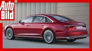 Audi A8 (2017) - Erste Sitzprobe im neuen D5 /Check/Preview/First Shot