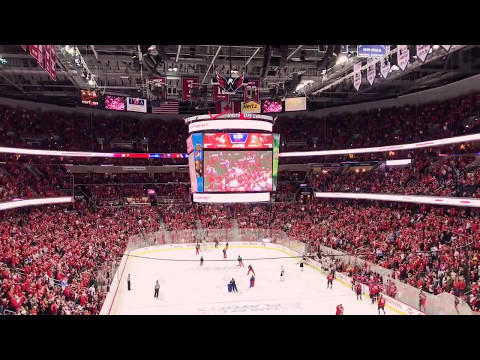 Loudest Washington Capitals Unleash The Fury VS Pittsburgh Penguins. 5/6/17
