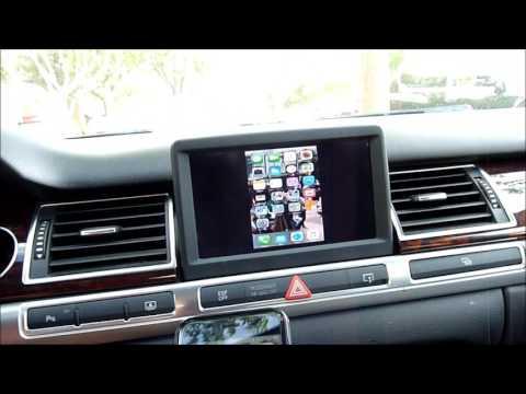 Wifi Mirror Link Audi A8 D3 MMI 2G Using Analog TV Tuner