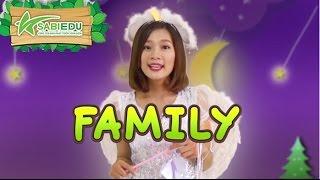 Bé Học Tiếng Anh Về GIA ĐÌNH Qua Thẻ Tiếng Anh MA THUẬT - Magic English Flashcard Family
