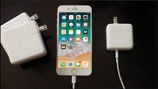 How to Fast Charge iPhone 8/8 Plus and iPhone X (50% in 30 Minutes!)