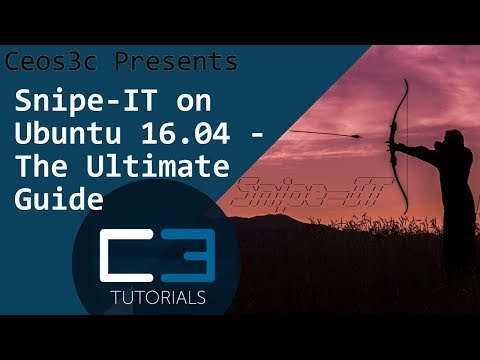 How to install Snipe-IT on Ubuntu 16.04 (AWS Free Tier!)