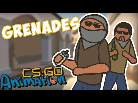 CS ANIMATION: GRENADES (COUNTER-STRIKE PARODY)