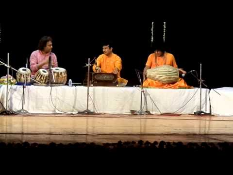 Hare Krishna Halder and Pandit Tanmoy Bose and his son