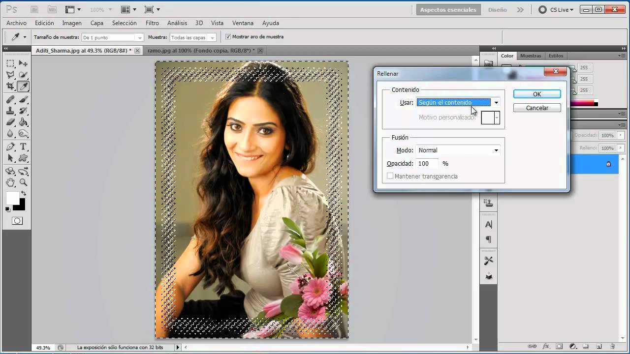 Como Crear un Marco Artistico en Photoshop - YouTube