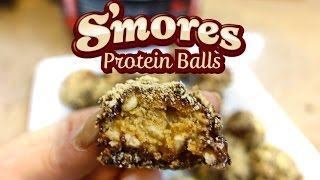 S'mores Protein Balls
