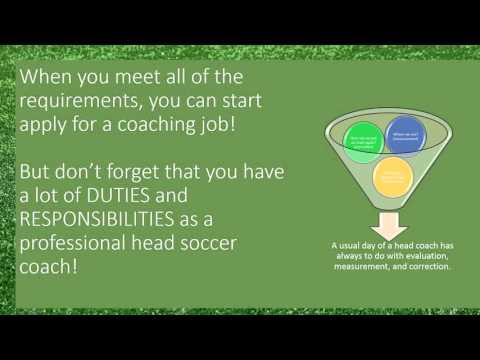 Professional Head Soccer Coach by Tobias Rebert