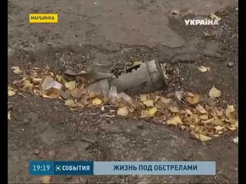 В Марьинке снова произошли обстрелы позиций сил АТО