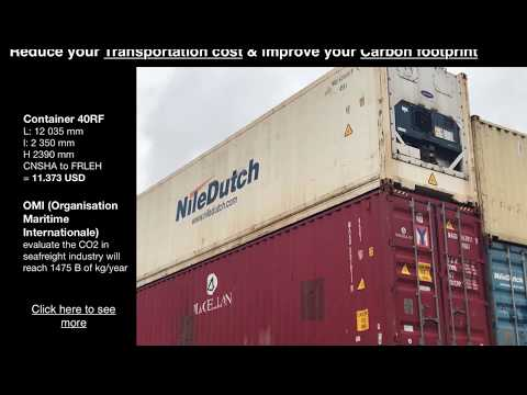 Worldwide seafreight CO2 will reach 1475 billion kg in 2020 - Keep control and optimize