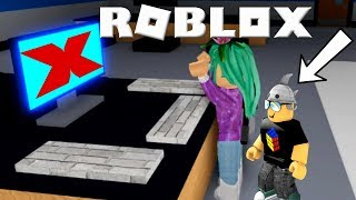 He Broke Everything!- Roblox Flee The Facility