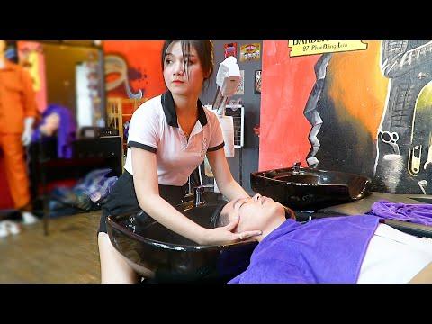 Young Girl Cheap Eyeglasses In Da Nang Vietnam/Vietnam Barber Shop GIRL FULL VERSION