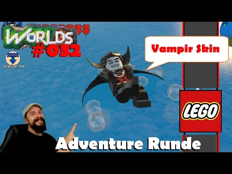 Lego Worlds deutsch 🦇 032: Vampir Skin, auf zur Adventure Runde 🦇 german gameplay