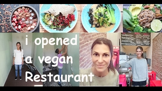 i opened a vegan Restaurant ☆ FIRST VIDEO☆ NICE COOKING with Martina Luke ♡