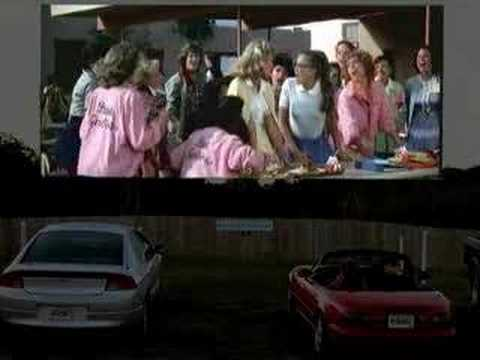drive in movie grease youtube