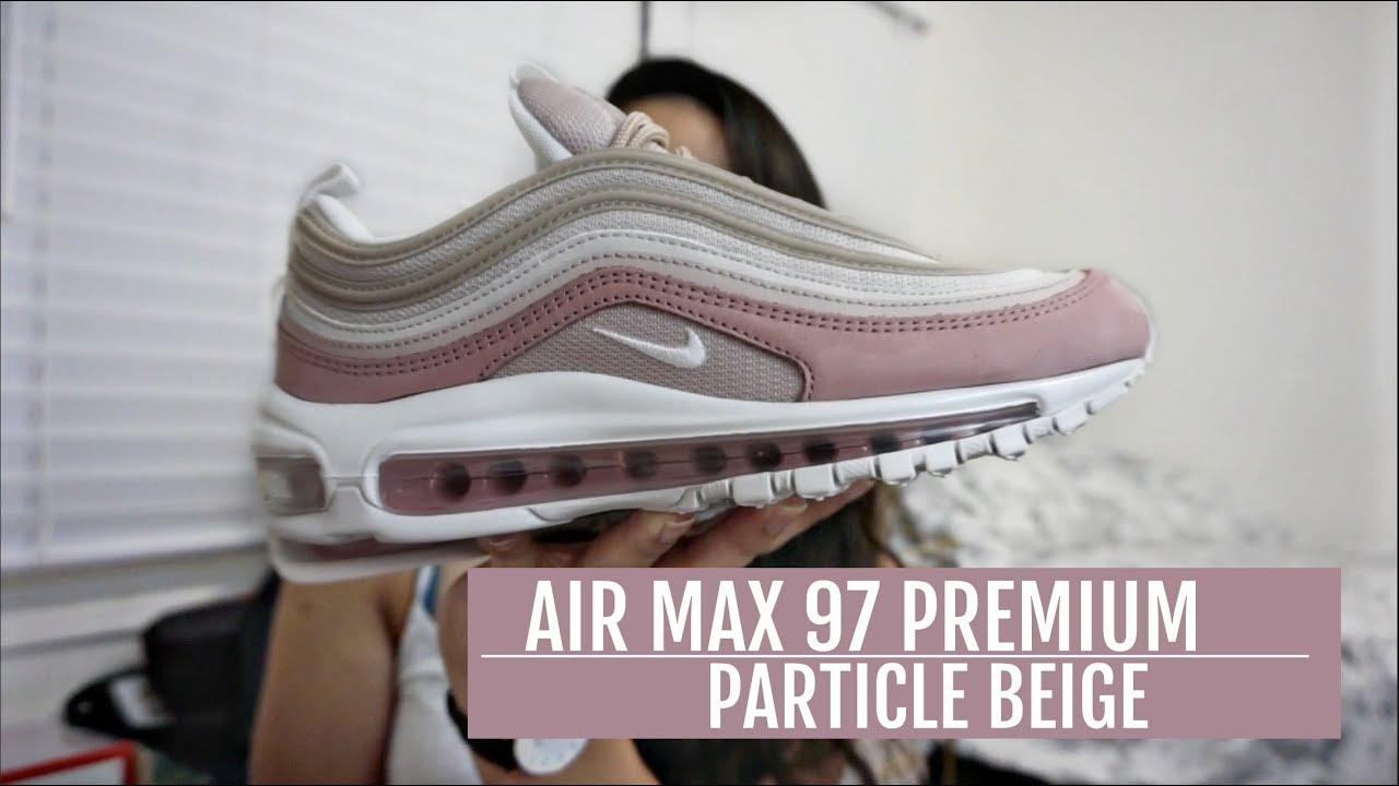 air max 97 beige on feet