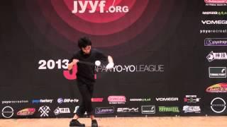 2013 East Japan Yo-Yo Contest B Block 4A Naoto Okada