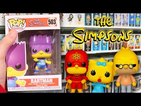 The Simpsons Funko Pop Hunting