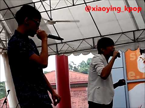 "[FANCAM] Tosh & Wei Liang - ABTM ""Recruits Anthem"" Live @ SDC YOUTHphoria 2013"
