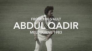 From the Vault: Qadir takes five at the MCG