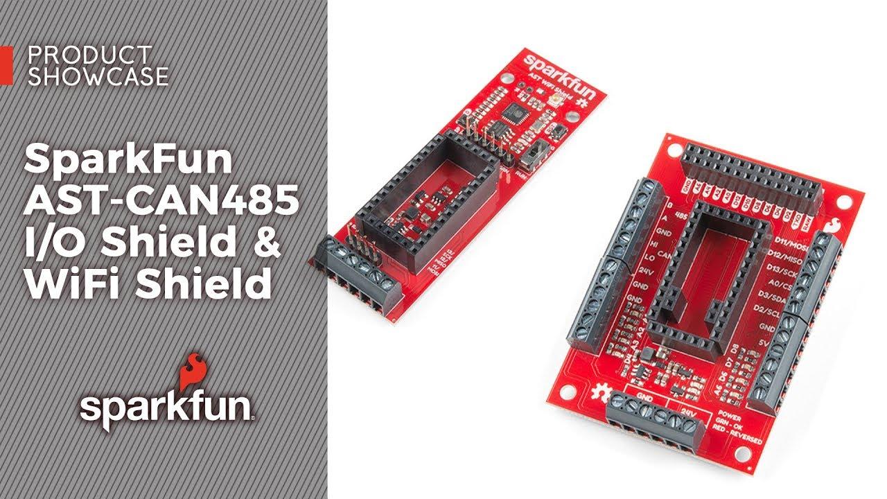 SparkFun AST-CAN485 Dev Board - SparkFun Electronics