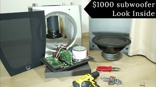 Look inside $1000 Dali IKON active subwoofer - What's Inside?