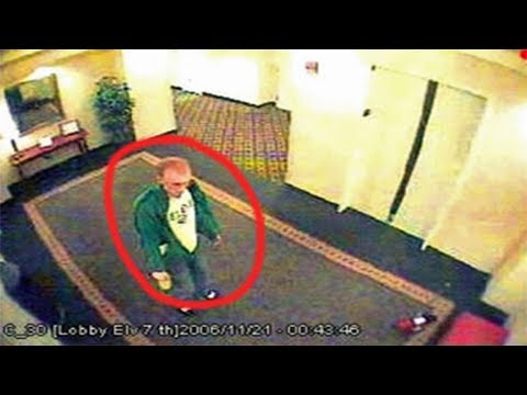 10 Unsolved Mysteries With Creepy Surveillance Footage