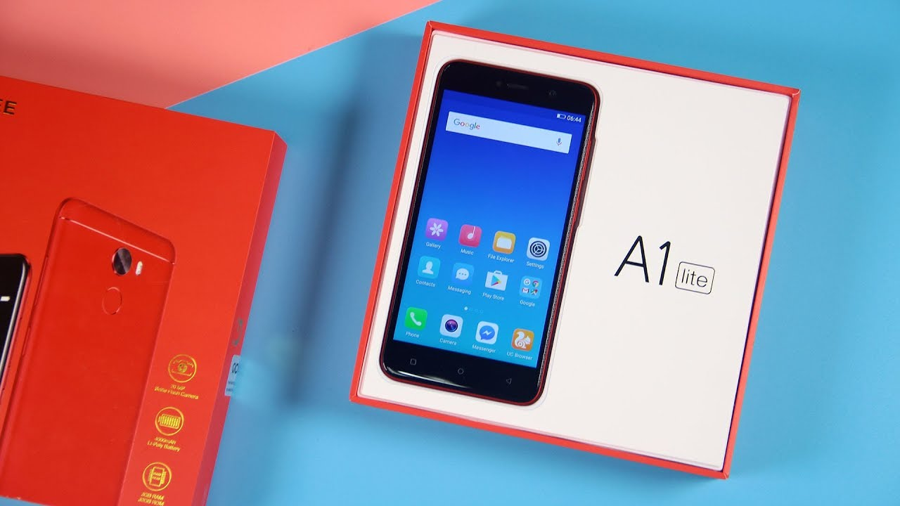 GIONEE A1 LITE 3GB RAM 32GB ROM MTK6753 1 3GHz Octa Core 5 3 Inch 2 5D  Corning Gorilla Glass 3 HD Screen Android 7 0 4G LTE Smartphone