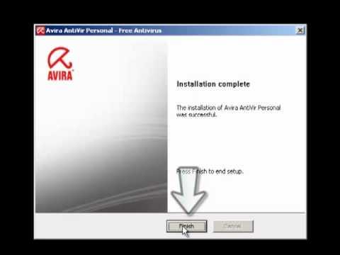 Installation And Update Of Avira Antivirus.mp4
