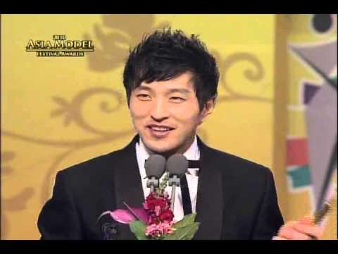 """2010 Asia Model Awards """"CF Model Award"""" Kim Sanha, Choi Sooeun"""