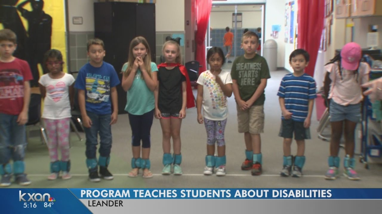 Bullying And Students With Disabilities >> Students Learning About Disabilities First Hand Prevents Bullying