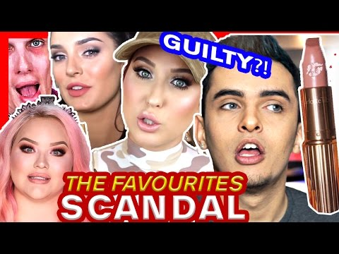 THE FAVOURITES SCANDAL!! | JACLYN HILL, NIKKIETUTORIALS & JEFFREE STAR, CHLOE MORELLO
