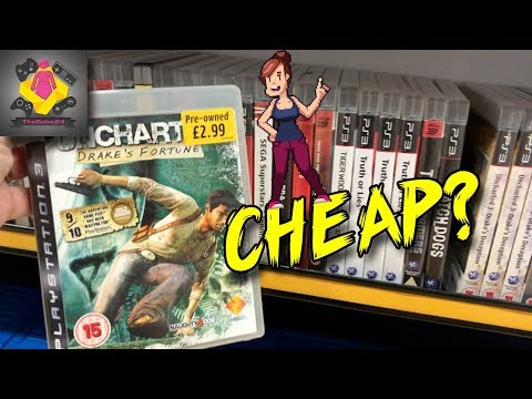Cheap PS3 And Xbox 360 Games In 2018 | Video Game Hunt UK | TheGebs24