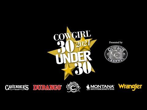 COWGIRL 30 Under 30 2021 | COWGIRL
