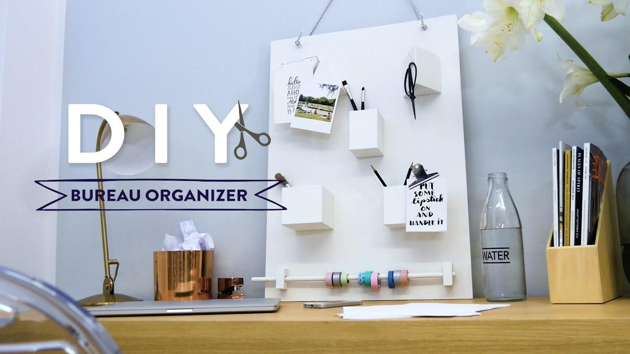 Bureau Organizer Riviera Maison : Design bureau organizer mirror black difference white combo
