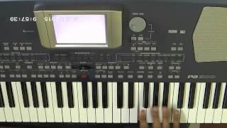 Deewana muj sa nahin instrumental:keyboard