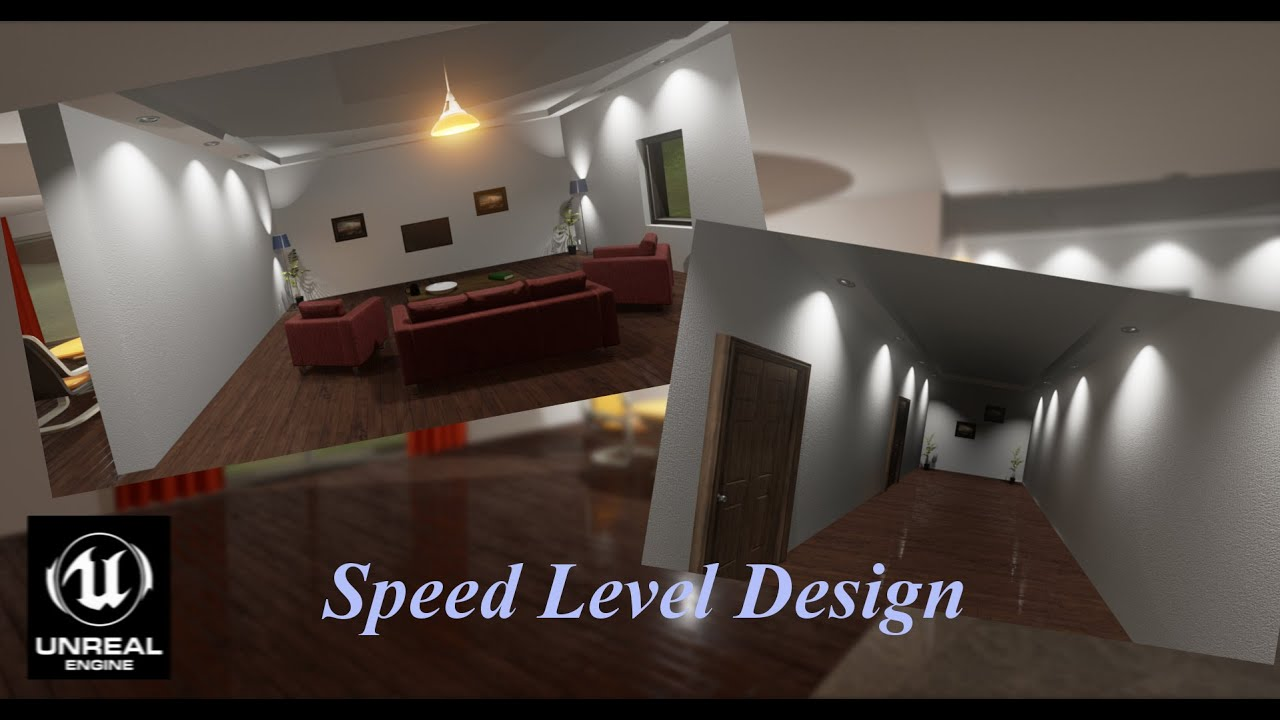 I 4 Home Design Part - 40: Speed Level Design- Creating Home (BSP)- Unreal Engine 4 - YouTube