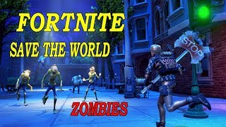 Fortnite\Save the world\zombies