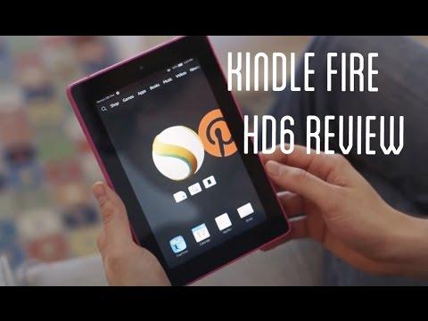 Amazon Kindle Fire HD6 Impressions!
