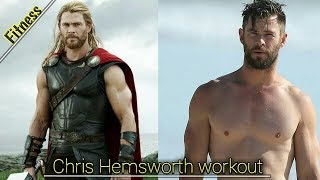 💪Chris Hemsworth workout 💪 by bharati academy