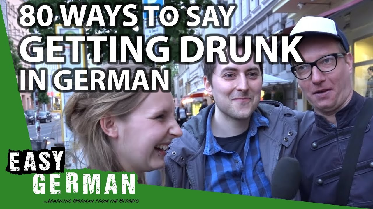 80 German synonyms for drinking alcohol | Easy German 90