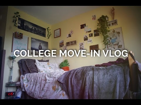 College Move-In Vlog 2017 | William Paterson University streaming vf