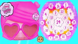 What's In My Purse 24 Advent Surprise Puzzle Eraser, LipGloss Makeup Blind Bags