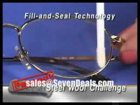 eyeglass scratch repair youtube. Black Bedroom Furniture Sets. Home Design Ideas