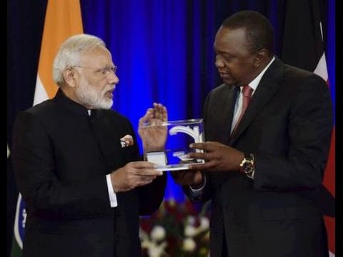 India & Kenya Sign 7 Pacts - To Deepen Cooperation in Security